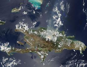 Fires burning in the Dominican Republic