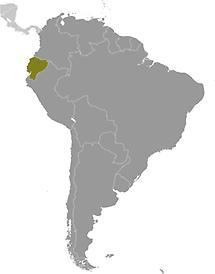 Ecuador in South America