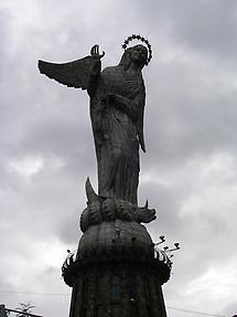 he Virgin of the Apocalypse statue (2)