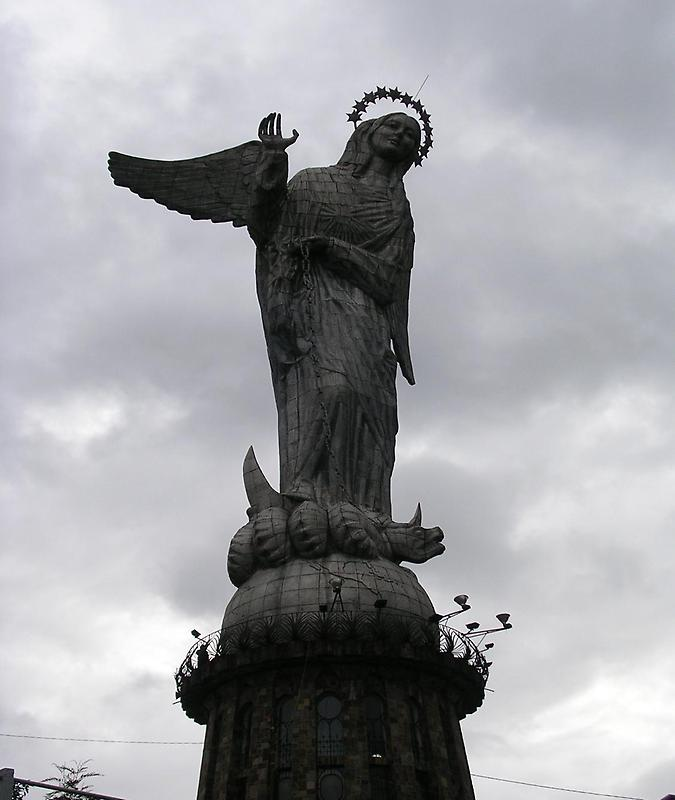 The Virgin of the Apocalypse statue (2)