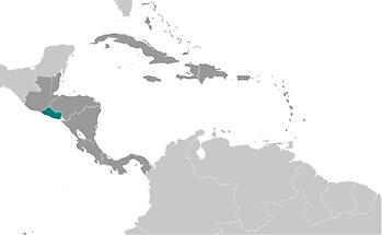 El Salvador in Central America and Caribbean