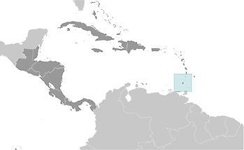 Grenada in Central America and Caribbean