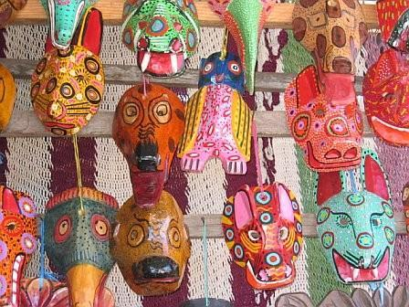 Indian masks