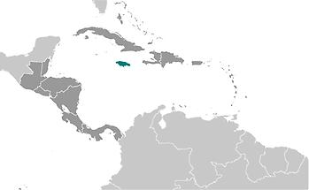 Jamaica in Central America and Caribbean