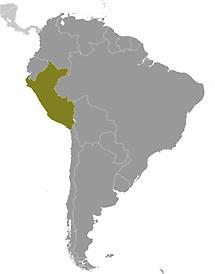 Peru in South America