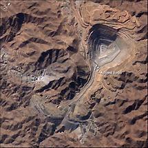 Perus Toquepala copper mine