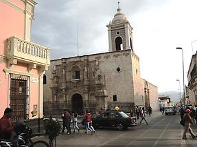 Iglesia San Augustin in Arequipa