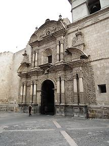 Iglesia la Campania de Jesu in Arequipa