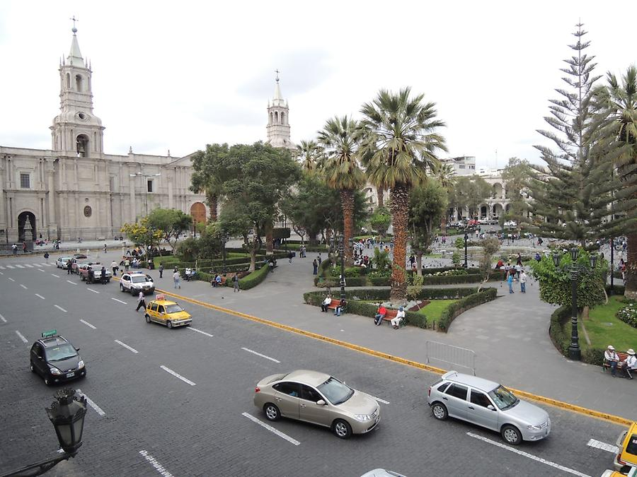 Plaza Prinzipal Cathedral in Arequipa