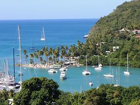 St Lucia Hafen