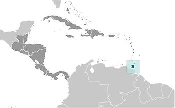 Trinidad and Tobago in Central America and Caribbean
