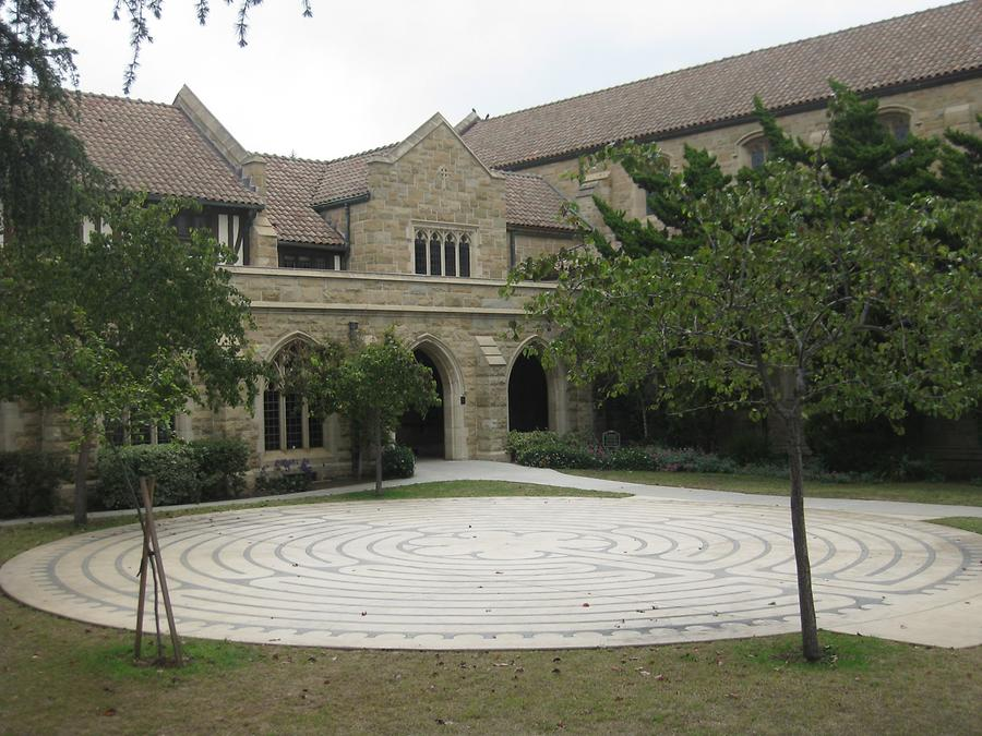 Santa Barbara Trinity Episcopal Church Labyrinth