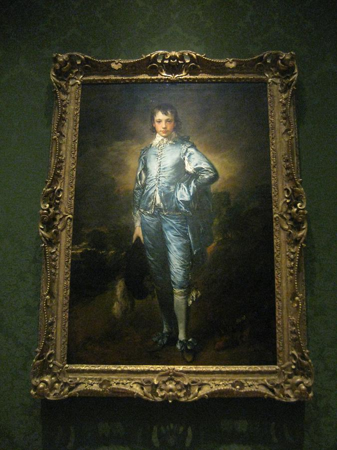 LA MA San Marino The Huntington Art Gallery 'The Blue Boy' Th Gainsborough