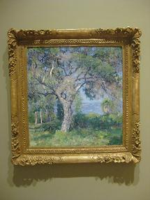 LA MA San Marino The Huntington Scott Gallery Guy Rose The Oak