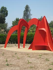 LA MA San Marino The Huntington Sculpture Garden Jerusalem Stabile