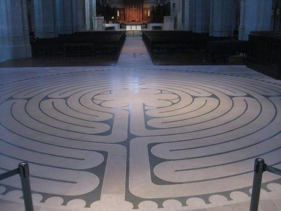 San Francisco Grace Cathedral Indoor Labyrinth