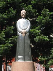 San Francisco St. Mary's Square Sun Yat-Sen Memorial