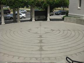 Sacramento Pioneer Congregational Church Labyrinth
