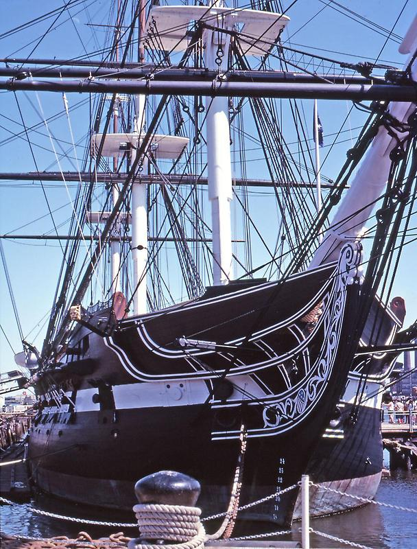 Bow of the USS Constitution