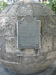 St. Augustine Old Spanish Trail Zero Milestone