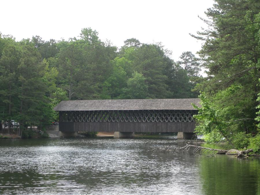 Atlanta Stone Mountain Lake Covered Bridge