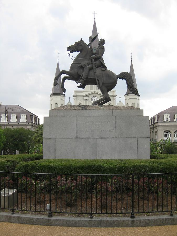 New Orleans Andrew Jackson Monument