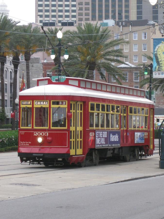New Orleans Canal Street Streetcar