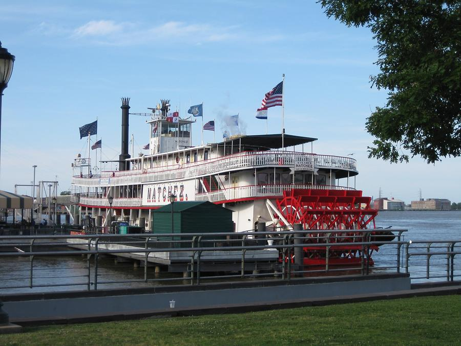 New Orleans Mississippi Waterfront Natchez