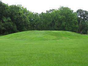 Natchez Grand Village of the Natchez Indians Mound