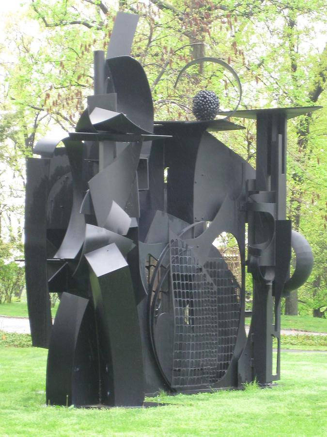 Cornwall-on-Hudson Storm King Art Park City on the High Mountain von Louise Nevelson