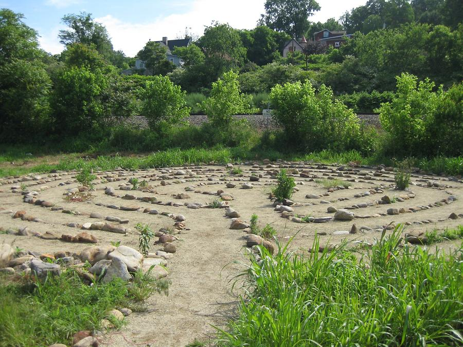 Asheville Riverlink Labyrinth