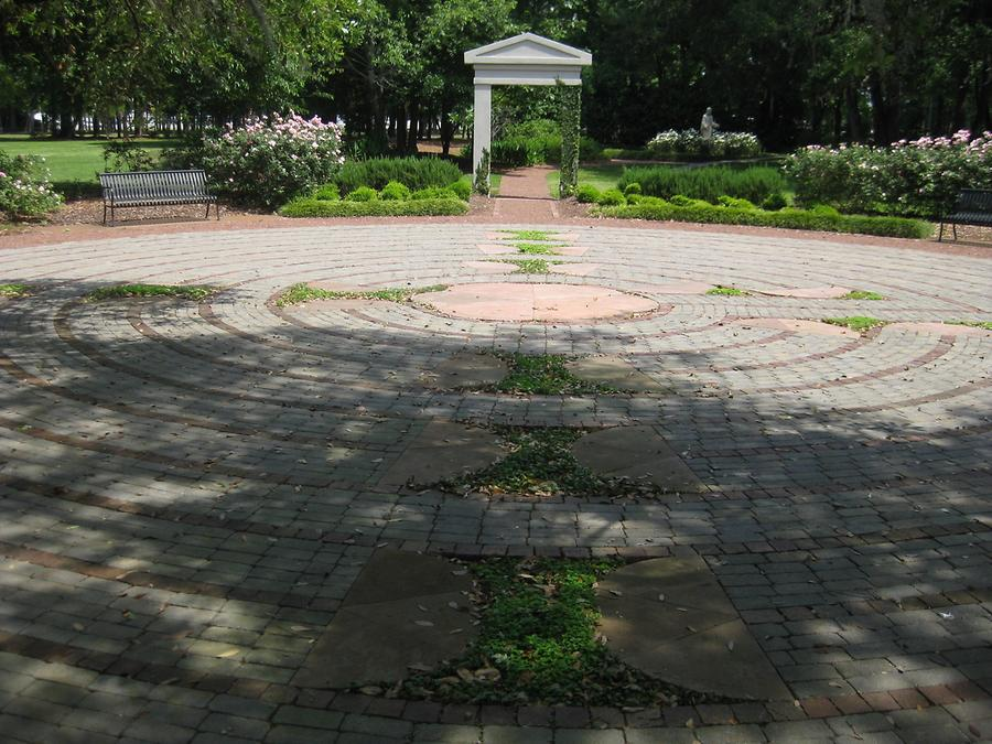 Charleston Roper St Francis Hospital Meditation Garden Labyrinth