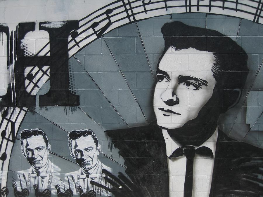 Nashville Johnny Cash Graffiti