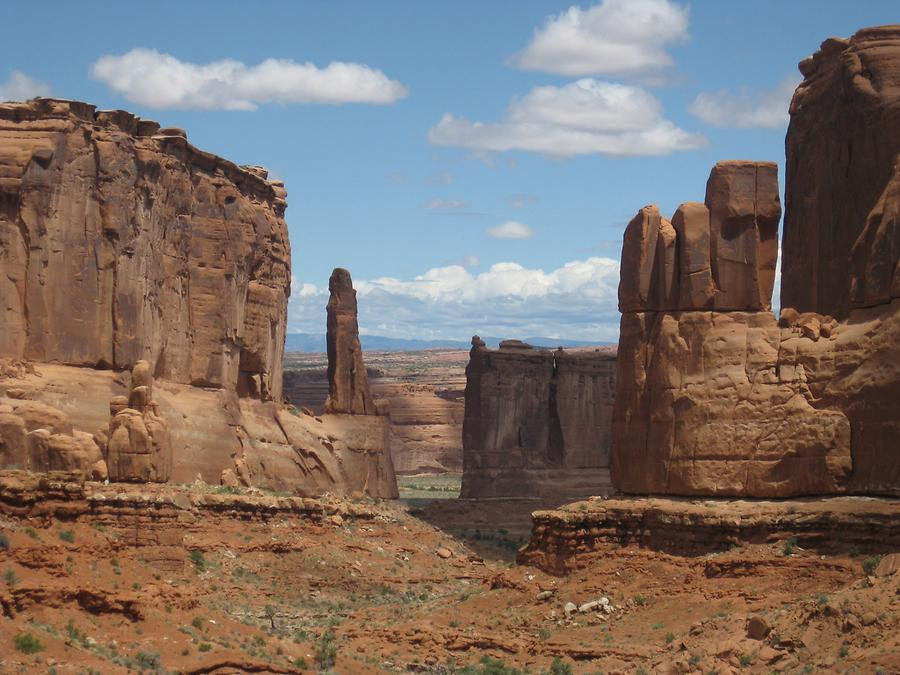 Arches National Park Park Avenue