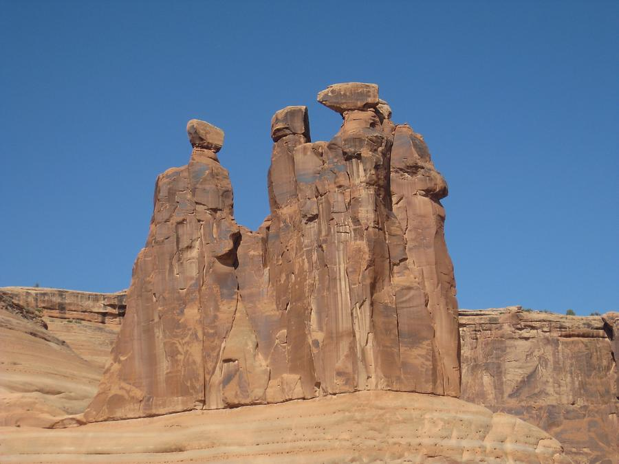 Arches National Park Three Gossips