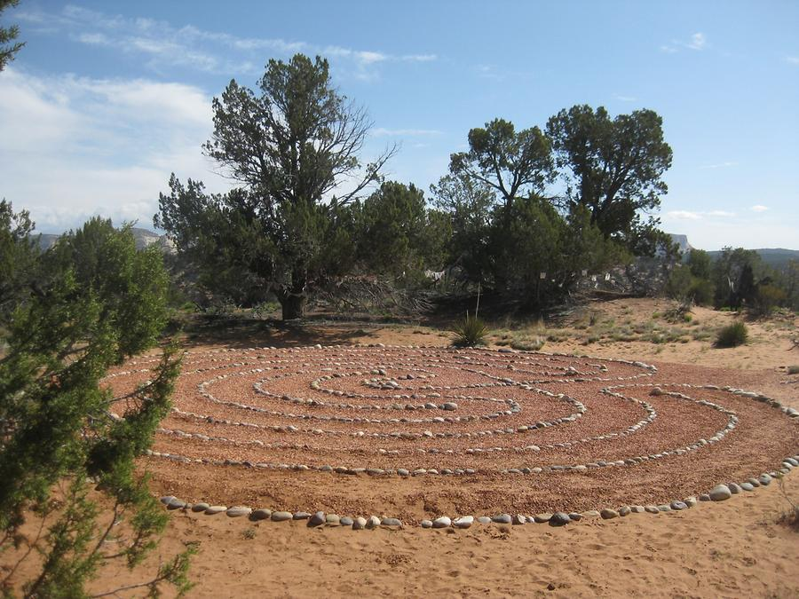 Kanab Best Friends Animal Sanctuary Labyrinth