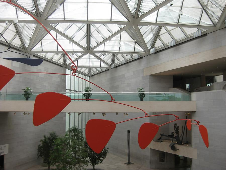 National Gallery of Art East Wing Alexander Calder Mobile