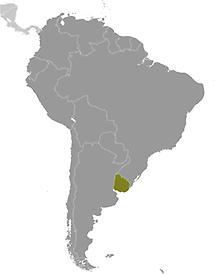 Uruguay in South America