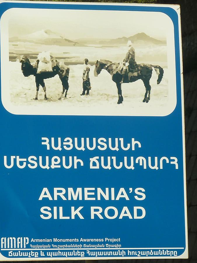 Armenian silk road