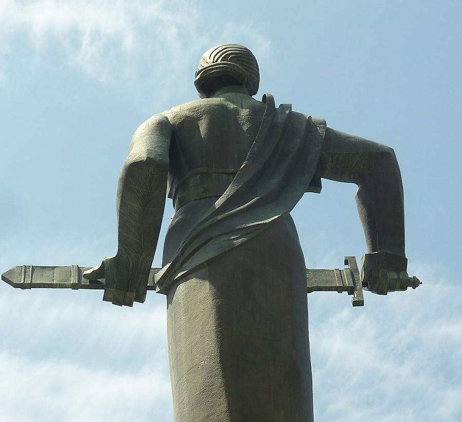 Close-up of Statue