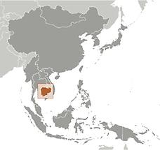 Cambodia in East And SouthEast Asia