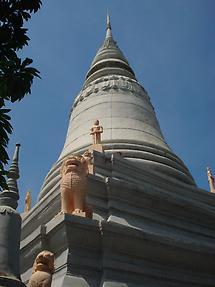 Pagoda at Wat Phnom
