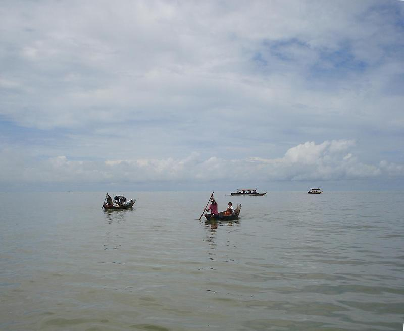 Boats on Tonle Sap