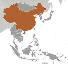 China in East And SouthEast Asia
