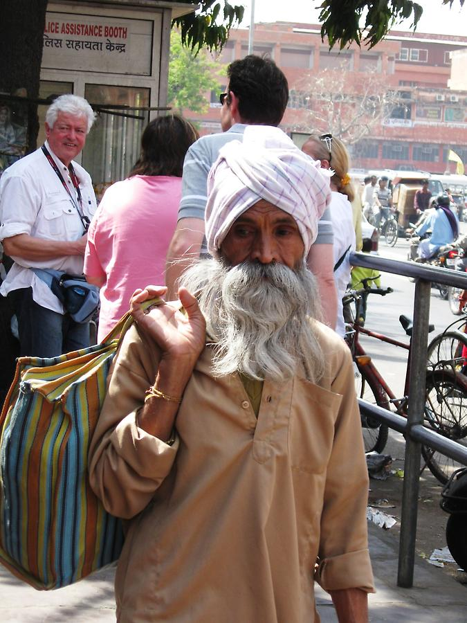 Man in Jaipur