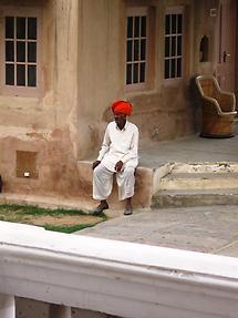 Man in Mandawa