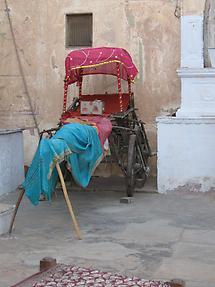 Rickshaw in Mandawa