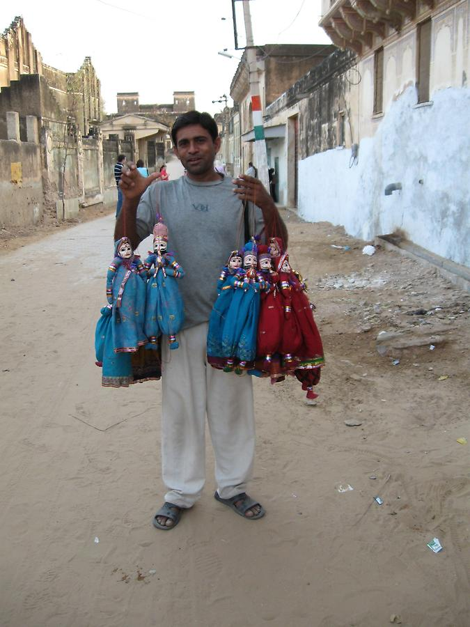 Salesman in Mandawa