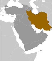 Iran in Middle East