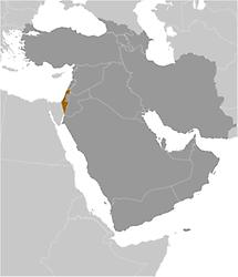 Israel in Middle East